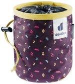 Gravity Chalk Bag I aubergine blocks turmeric